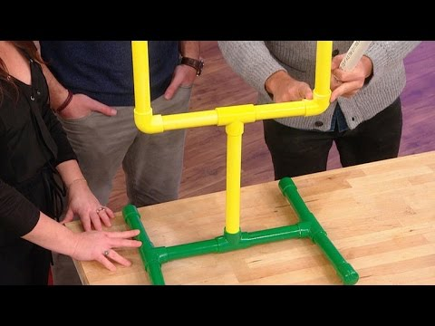 How to Make Your Own Football Party Goal Post
