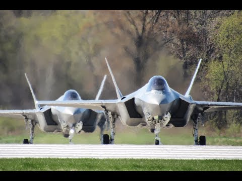Volk Field Operations During Northern Lightning 2017 Featuring the F-35 Lightning II