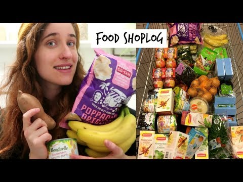 Vegan Supermarket Shoplog! Chatty Healthy Food Haul  | HiLes