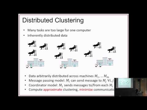 """Colin White on """"General and Robust Communication-Efficient Algorithms for Distributed Clustering"""""""