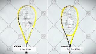 Видео о Сквош Karakal S Pro Elite