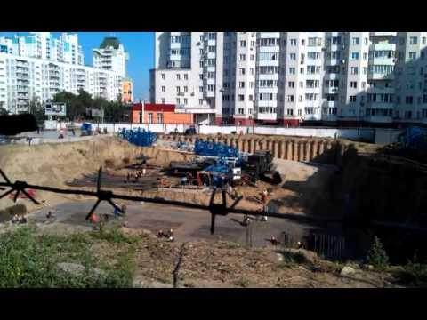 Стройка на месте пересыльной тюрьмы в Новосибирске