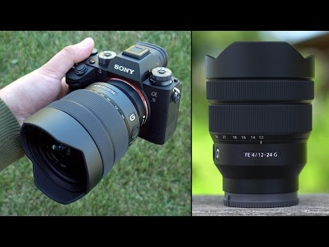 Sony 12-24mm F4 G lens Review - HALF THE WEIGHT of Sigma & Canon!
