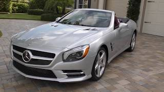 2015 Mercedes Benz SL 550 Roadster Review and Test Drive by Bill - Auto Europa Naples