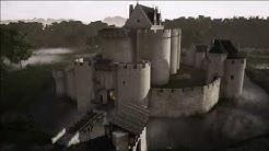 Restitution 3D de La Forteresse de Blanquefort au XV siècle