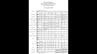 THE FLYING DUTCHMAN by Richard Wagner (Audio + Full Score)