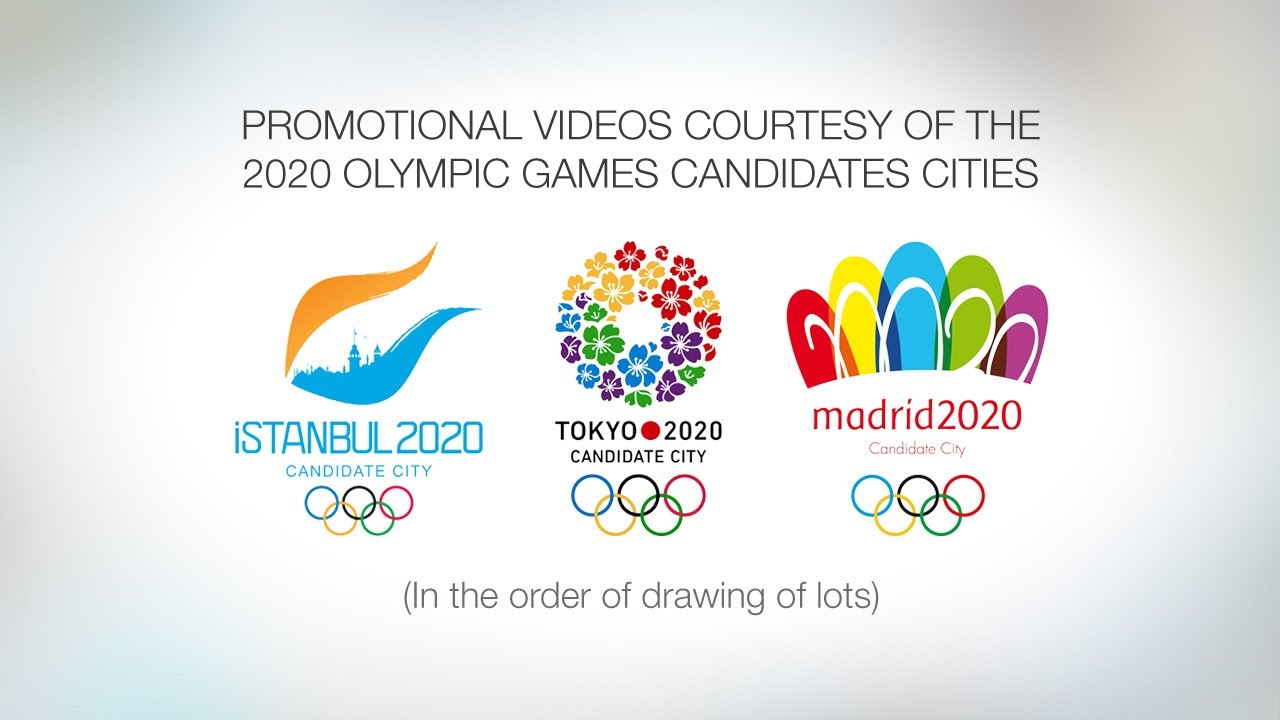 2020 Olympic Games.2020 Olympics Istanbul Tokyo And Madrid Promotional Candidate Videos