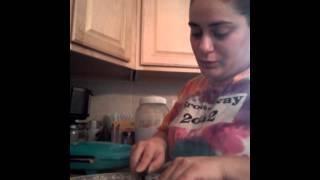Banana Waffles 2