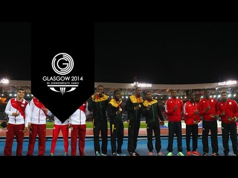 Athletics - Relay Finals - Day 10 Highlights Part 7   Glasgow 2014