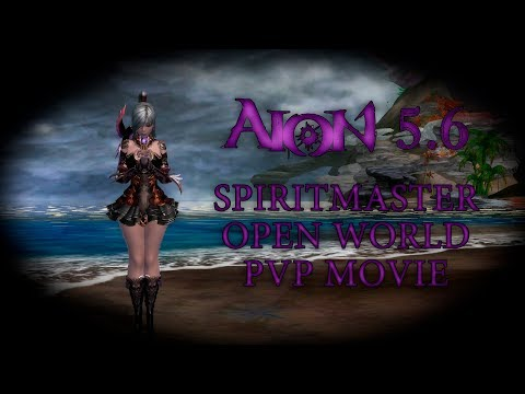Aion 5.6 Spiritmaster 75 open world pvp, fun & gang. Gardarika