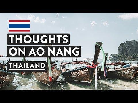 FIRST IMPRESSIONS - Ao Nang, Krabi | Beach, Pier, Hotels | Thailand Travel Vlog