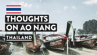 FIRST IMPRESSIONS - Ao Nang, Krabi | Beach, Pier, Hotels | Thailand Travel Vlog