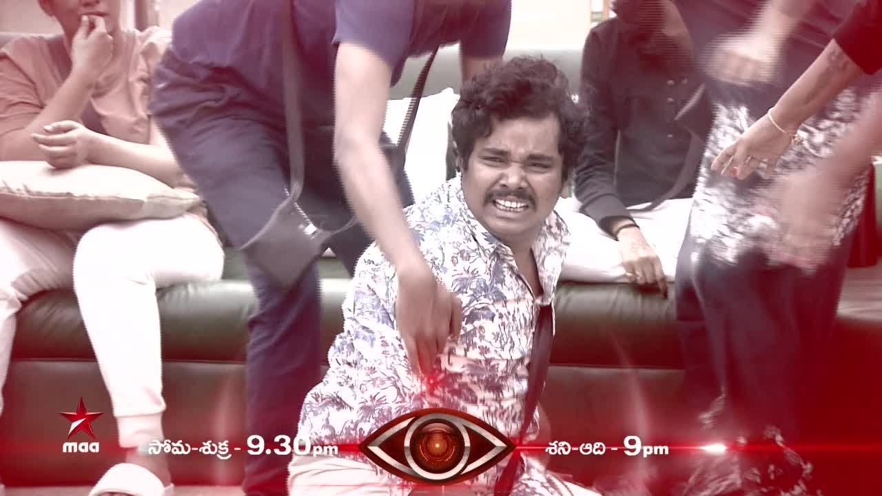 Why is Burning star Burning with anger ??    #BiggBossTelugu Tonight at  9:30 PM