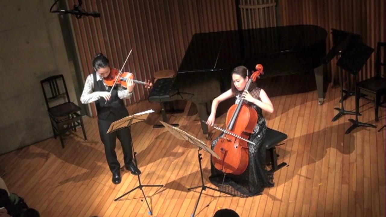 ラヴェル ヴァイオリンとチェロ...