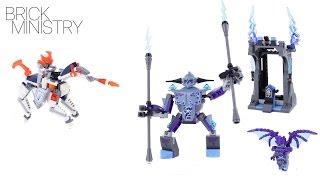 LEGO 70359 NEXO Knights ● Lance vs  Lightning