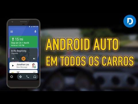 Android Auto - como usar em qualquer carro