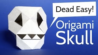 Origami Skull