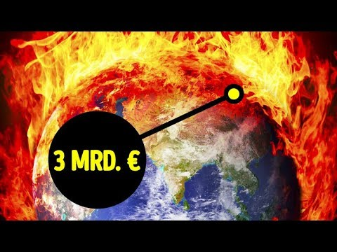 Ein 3 Mrd. € Plan um den Planeten vor dem Super-Vulkan zu retten