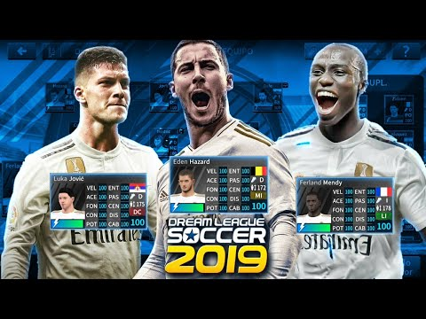 PLANTILLA DEL REAL MADRID 2020 CON MONEDAS INFINITAS PARA DREAM LEAGUE SOCCER 19 | NUEVOS FICHAJES