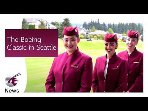 Proud to sponsor the Boeing Classic | Qatar Airways