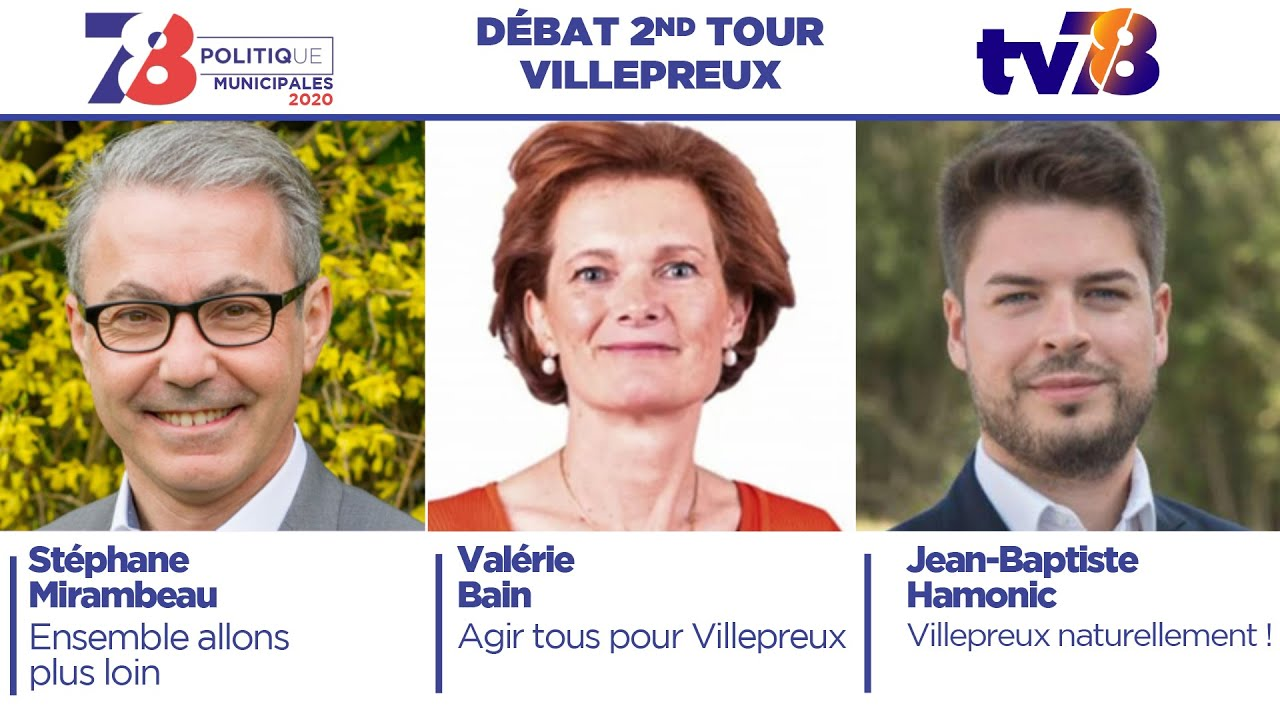 Municipales 2020. Débat du second tour à Villepreux