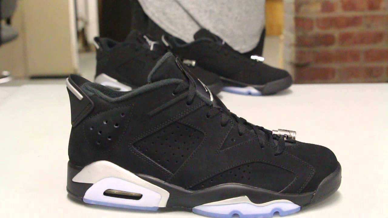 Jordan 6 Retro Low Chrome
