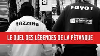 Pétanque - Odyssée des Champions 2019 à Montpellier : Christian FAZZINO vs Marco FOYOT