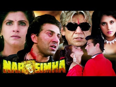Narsimha Full Movie in HD   Sunny Deol Hindi Action Movie   Dimple Kapadia   Urmila Matondkar