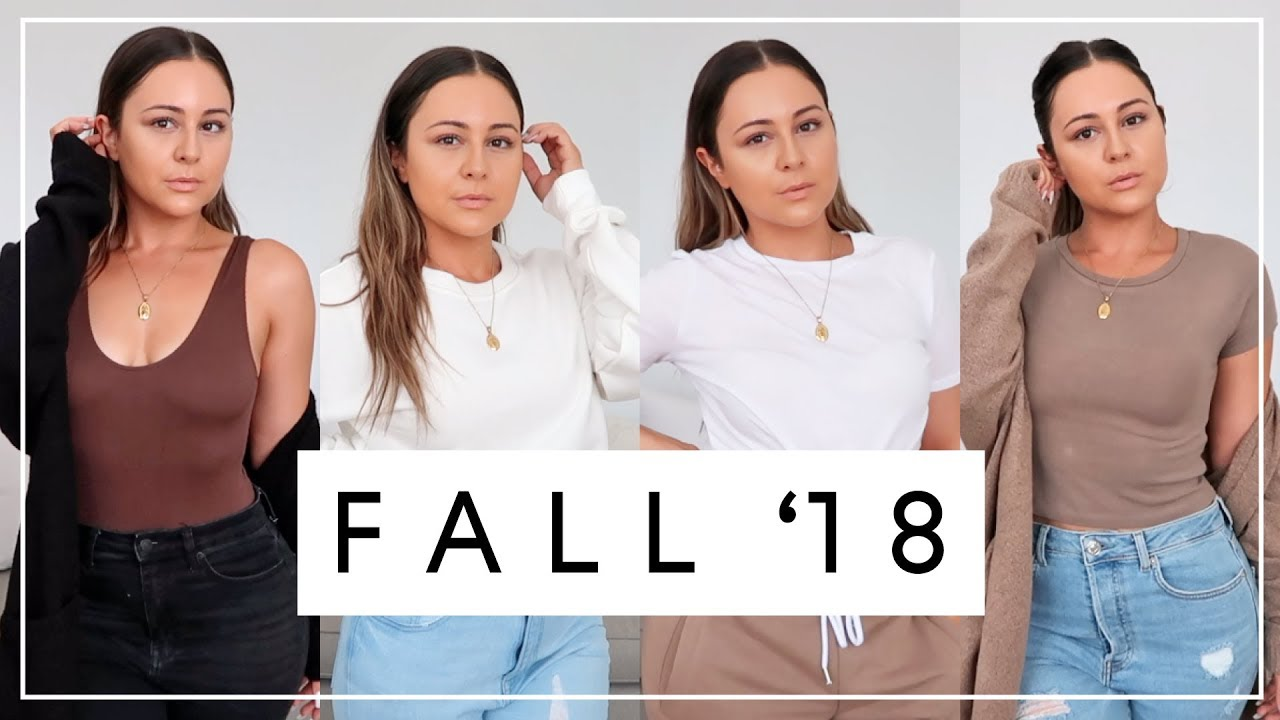 [VIDEO] - FALL 2018 CLOTHING TRY ON HAUL - Must Haves & Outfit Ideas 6