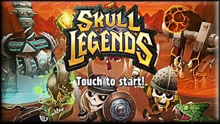 Skull Legends Game (1-5 lvl) (Android & iOS)