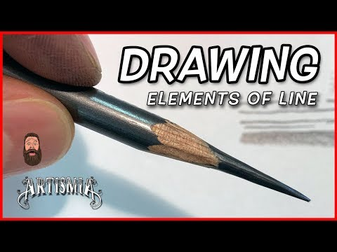 DRAWING - Elements of Line, 8 Types you should Know!  ~ Artismia