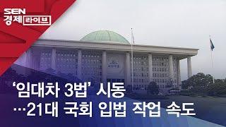 '임대차 3법' 시동…21대 국회 입법 작업 속도