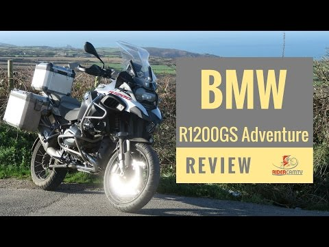 2017 BMW R1200 GS Adventure Review - The Best GSA Yet!