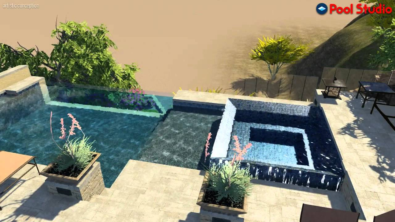 Mossman Brothers Pools Inc Swimming Pool Builders Scottsdale Young Project Les Lull Designer