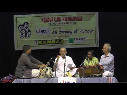 An Enjoyable Musical Evening l Madurai G.S.Mani l Allah Allah Nee Illatha Idame Illai  l Humour Club
