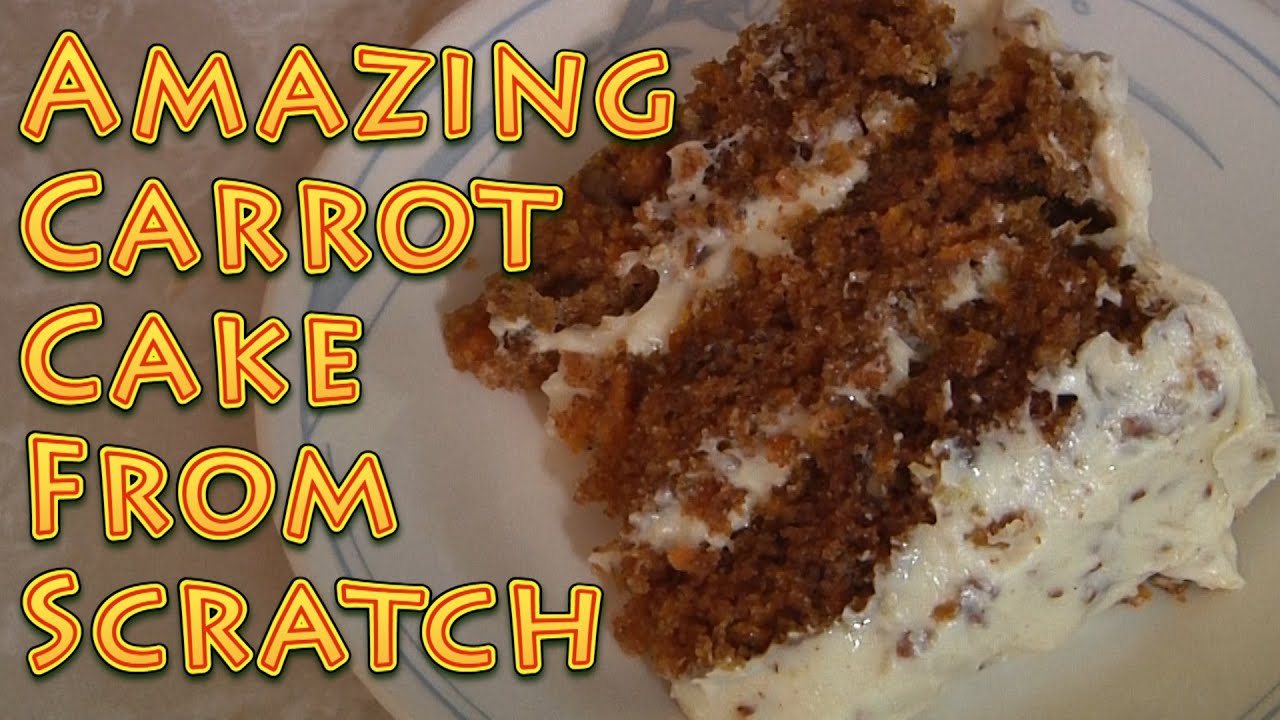 How To Make Carrot Cake From Scratch
