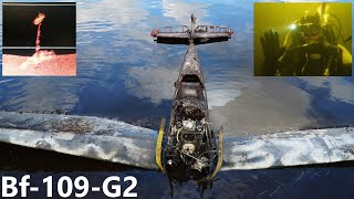Bf-109-G2 Recovery From The Lake In Russia. Подъем Ме-109 из озера. 2018. FULL VIDEO.