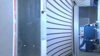 Rytec Spiral® HZ® Hurricane Zone High-Speed Door