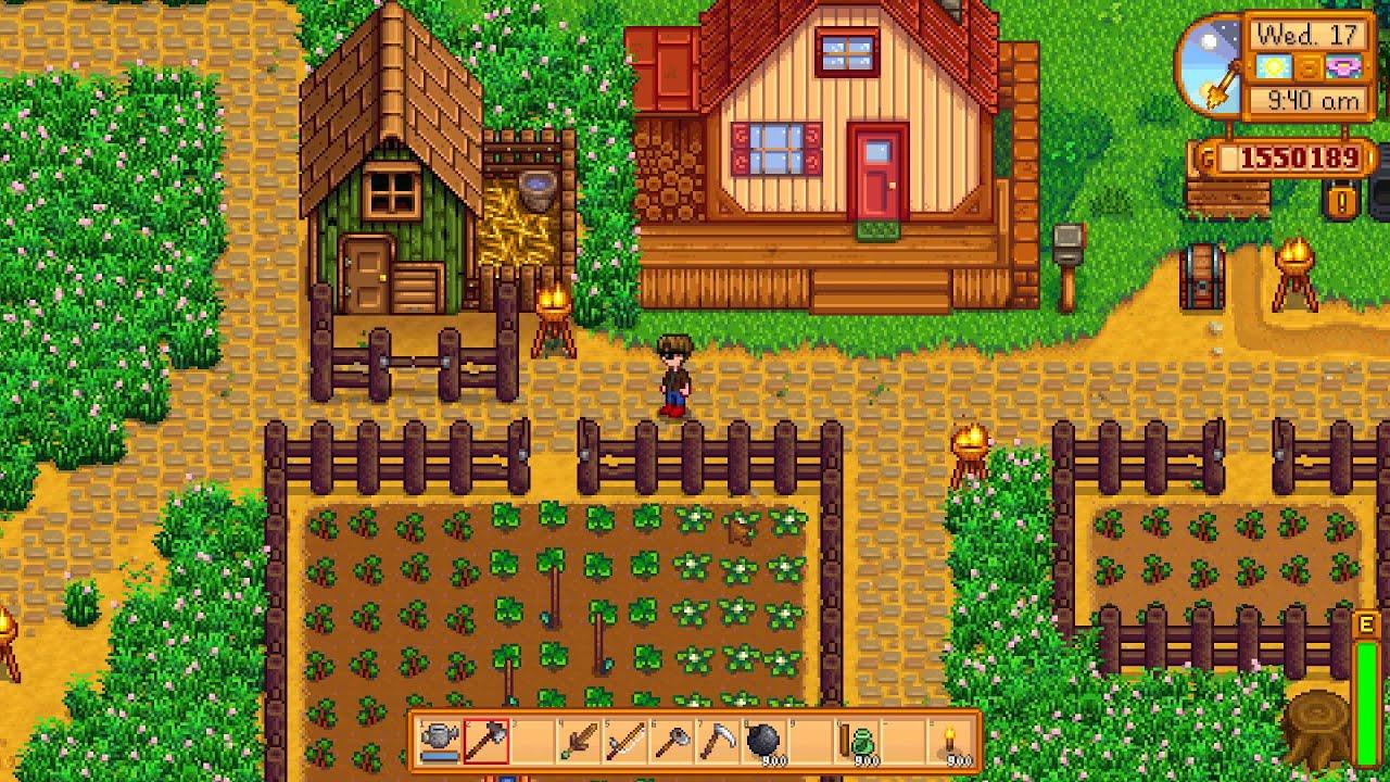Stardew Valley Heu Farmen
