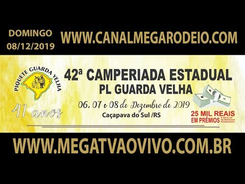 42ª Camperiada Estadual do PL Guarda Velha  domingo  08/12/2019-Caçapava do Sul-RS