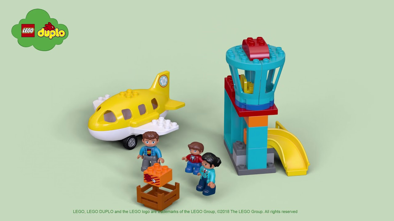 Lego Duplo 10871 My Town Airport Brand New