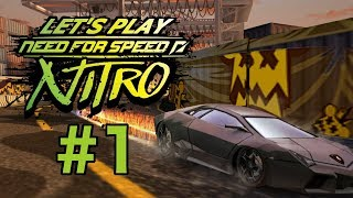 need For Speed Nitro Game Play Part 1Hq