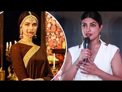 Priyanka Chopra's Has Already Watched Deepika Padukone's Padmavati And Here's Her Epic Review