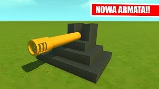 SCRAP MECHANIC - TESTUJE NOWĄ ARMATĘ!!