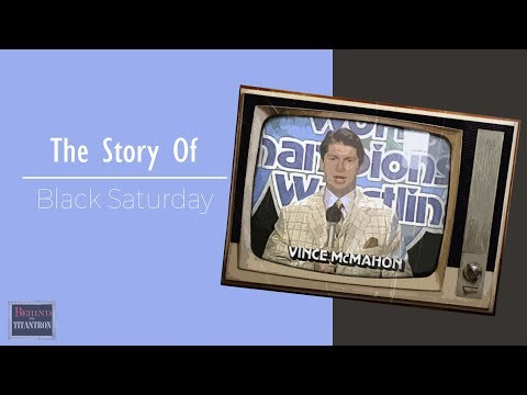 Behind The Titantron  Black Saturday  Episode 15