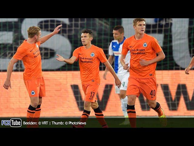 2014-2015 - Europa League - 03. 1ste Ronde - Grasshoppers Zürich - Club Brugge 1-2