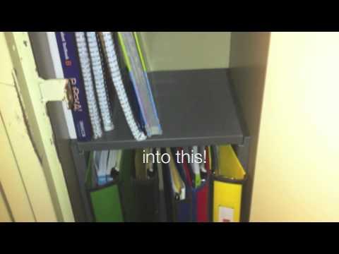 Locker Shelf Solutions Organizing One Locker At A Time