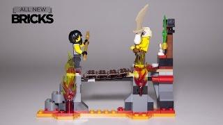 Lego Ninjago 70753 Lava Falls Speed Build Review