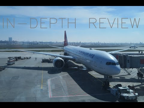 PART 2 TRIP REPORT   Turkish Airlines Istanbul To Chicago Boeing 777-300ER Economy Review