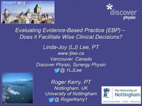 Evidence Based Practice (EBP) - Physiopedia